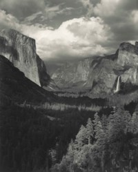 Clouds, Yosemite Valley, 1945